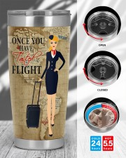 FLIGHT ATTENDANT ONCE YOU HAVE TASTED FLIGHT 20oz Tumbler aos-20oz-tumbler-lifestyle-front-45