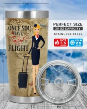 FLIGHT ATTENDANT ONCE YOU HAVE TASTED FLIGHT 20oz Tumbler aos-20oz-tumbler-lifestyle-front-49