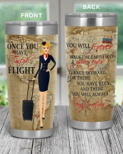FLIGHT ATTENDANT ONCE YOU HAVE TASTED FLIGHT 20oz Tumbler aos-20oz-tumbler-lifestyle-front-59