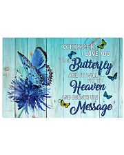 BUTTERFLY - WHISPER I LOVE YOU 17x11 Poster front