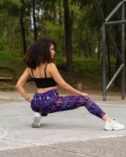 YORKSHIRE TERRIER  BOHO PATTERNB High Waist Leggings aos-high-waist-leggings-lifestyle-13