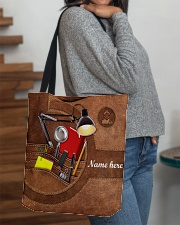 LIBRARIAN BAG-ACCESSORY POUCH-PILLOW All-over Tote aos-all-over-tote-lifestyle-front-09