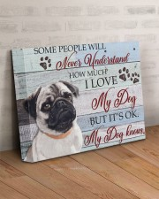 PUG - SOME PEOPLE WILL NEVER UNDERSTAND 14x11 Gallery Wrapped Canvas Prints aos-canvas-pgw-14x11-lifestyle-front-07