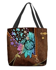 TURTLE AND FLOWER BAG All-over Tote back