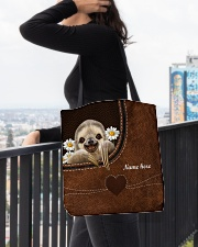 SLOTH BAG-ACCESSORY POUCH-PILLOW All-over Tote aos-all-over-tote-lifestyle-front-05