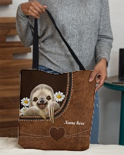 SLOTH BAG-ACCESSORY POUCH-PILLOW All-over Tote aos-all-over-tote-lifestyle-front-10