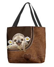 SLOTH BAG-ACCESSORY POUCH-PILLOW All-over Tote back