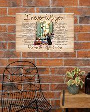 I NEVER LEFT YOU POSTER-CANVAS-DOORMAT-BATH MAT 24x16 Poster poster-landscape-24x16-lifestyle-24