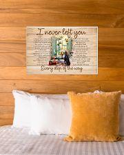 I NEVER LEFT YOU POSTER-CANVAS-DOORMAT-BATH MAT 24x16 Poster poster-landscape-24x16-lifestyle-27