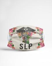 SLP FLOWER Cloth face mask aos-face-mask-lifestyle-22