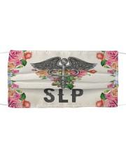 SLP FLOWER Cloth face mask front
