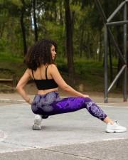BUTTERFLY BOHO PATTERN High Waist Leggings aos-high-waist-leggings-lifestyle-13