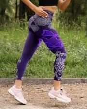 BUTTERFLY BOHO PATTERN High Waist Leggings aos-high-waist-leggings-lifestyle-15