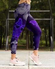 BUTTERFLY BOHO PATTERN High Waist Leggings aos-high-waist-leggings-lifestyle-16