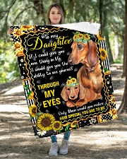 """TO MY DAUGHTER QUILT Quilt 40""""x50"""" - Baby aos-quilt-40x50-lifestyle-front-04"""