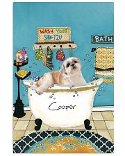 PERSONALIZED SHIH-TZU POSTER 11x17 Poster front