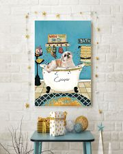PERSONALIZED SHIH-TZU POSTER 11x17 Poster lifestyle-holiday-poster-3