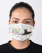 I WORK HARD Cloth face mask aos-face-mask-lifestyle-01