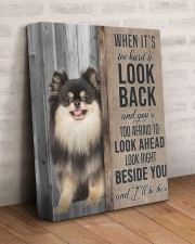 POMERANIAN - CANVAS TO MY DOG 11x14 Gallery Wrapped Canvas Prints aos-canvas-pgw-11x14-lifestyle-front-07