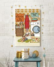 LAUNDRY YORKIE POSTER 11x17 Poster lifestyle-holiday-poster-3