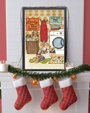 LAUNDRY YORKIE POSTER 11x17 Poster lifestyle-holiday-poster-4