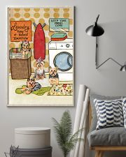 LAUNDRY YORKIE POSTER 11x17 Poster lifestyle-poster-1