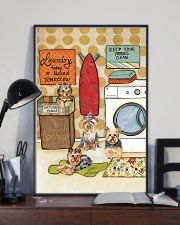LAUNDRY YORKIE POSTER 11x17 Poster lifestyle-poster-2