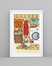 LAUNDRY YORKIE POSTER 11x17 Poster lifestyle-poster-5