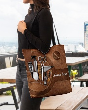 HAIRSTYLIST CLOTH TOTE-ACCESSORY POUCH-PILLOW All-over Tote aos-all-over-tote-lifestyle-front-04