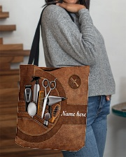 HAIRSTYLIST CLOTH TOTE-ACCESSORY POUCH-PILLOW All-over Tote aos-all-over-tote-lifestyle-front-09