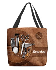 HAIRSTYLIST CLOTH TOTE-ACCESSORY POUCH-PILLOW All-over Tote front