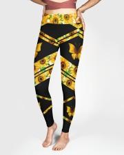 BUTTERFLY SUNFLOWER High Waist Leggings aos-high-waist-leggings-lifestyle-03