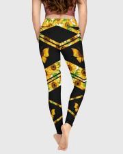 BUTTERFLY SUNFLOWER High Waist Leggings aos-high-waist-leggings-lifestyle-05