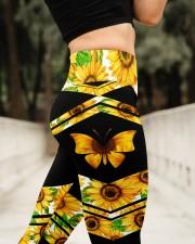 BUTTERFLY SUNFLOWER High Waist Leggings aos-high-waist-leggings-lifestyle-11