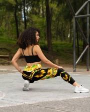 BUTTERFLY SUNFLOWER High Waist Leggings aos-high-waist-leggings-lifestyle-13