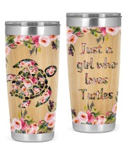 JUST A GIRL WHO LOVES TURTLES 20oz Tumbler front