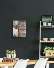 PUG - CANVAS TO MY DOG 11x14 Gallery Wrapped Canvas Prints aos-canvas-pgw-11x14-lifestyle-front-04