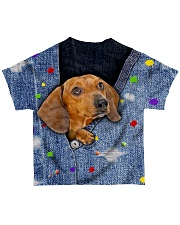 DACHSHUND ALL OVER TSHIRT All-over T-Shirt back