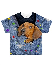 DACHSHUND ALL OVER TSHIRT All-over T-Shirt front