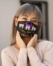 CHILLIN' LIKE A VILLAIN Cloth face mask aos-face-mask-lifestyle-17