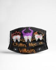 CHILLIN' LIKE A VILLAIN Cloth face mask aos-face-mask-lifestyle-22
