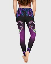 BUTTERFLY FLOWER High Waist Leggings aos-high-waist-leggings-lifestyle-05