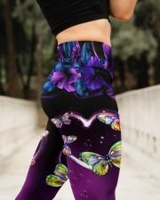 BUTTERFLY FLOWER High Waist Leggings aos-high-waist-leggings-lifestyle-11