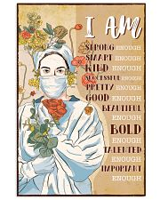 I AM STRONG ENOUGH SMART ENOUGH 11x17 Poster front