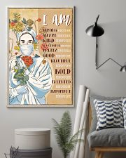 I AM STRONG ENOUGH SMART ENOUGH 11x17 Poster lifestyle-poster-1