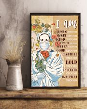 I AM STRONG ENOUGH SMART ENOUGH 11x17 Poster lifestyle-poster-3