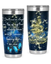 BUTTERFLY CHRISTMAS 20oz Tumbler front