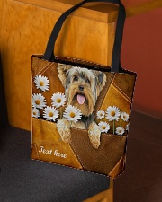 YORKIE CLOTH TOTE-ACCESSORY POUCH-PILLOW All-over Tote aos-all-over-tote-lifestyle-front-02