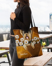 YORKIE CLOTH TOTE-ACCESSORY POUCH-PILLOW All-over Tote aos-all-over-tote-lifestyle-front-04