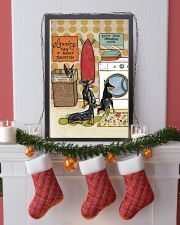 LAUNDRY DOBERMAN POSTER 11x17 Poster lifestyle-holiday-poster-4